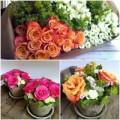 Nhà đẹp - Ý tưởng cắm hoa để bàn đẹp lung linh