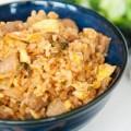 Bếp Eva - Thích thú với cơm rang kim chi thịt bò
