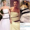 Thời trang - Váy Dior của Jennifer Lawrence bị dân mạng chế giễu
