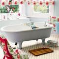Nhà đẹp - Chọn gạch lát sàn phòng tắm phong cách