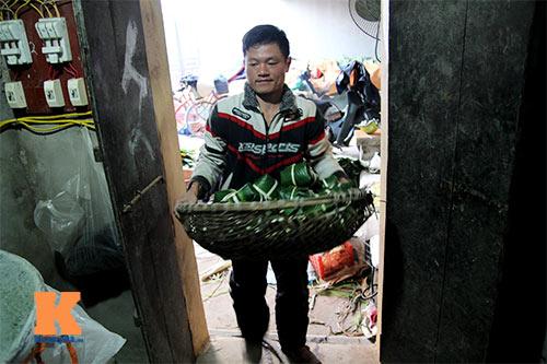 lang 'xuat khau' banh chung tat bat dip tet - 13