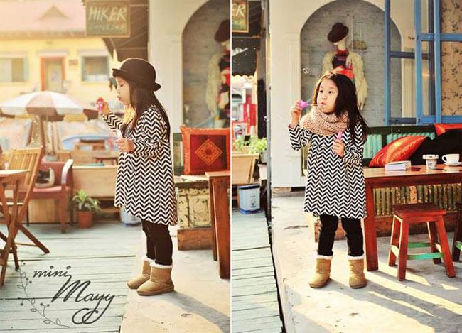 Cô béBùi Bảo Linh Nhi(tên ở nhà làNhố) gây ấn tượngvới gương mặt bầu bĩnh, đôi mắt đen láy và vẻ hồn nhiên, dễ thương đến bất ngờ.