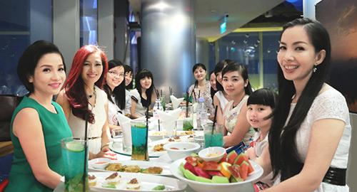 my linh, thu huong trai long chuyen chong con - 6