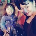 Làng sao - Vợ cũ Thành Trung vui tất niên bên con gái