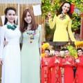 Làng sao - Sao Việt rủ nhau diện áo dài du Xuân