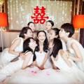 Làng sao - Toàn ảnh đám cưới Tiểu hoa đán Đồng Lệ Á