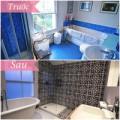 Nhà đẹp - Sốc: Phòng tắm 'lột xác' đẹp mê ly