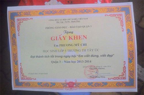 phuong my chi sai chinh ta van duoc bang khen - 2