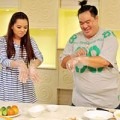 Xem & Đọc - Hoàng Mập và Hiền Trang thi tài nấu ăn
