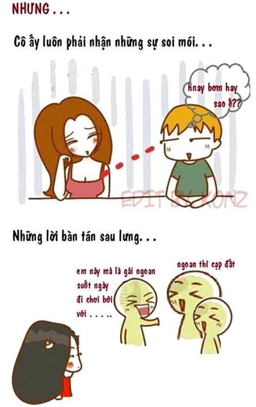 yeu gai binh thuong suong hon han hot girl - 4