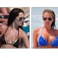 Làm đẹp - Sao trước và sau khi tháo bỏ độn ngực