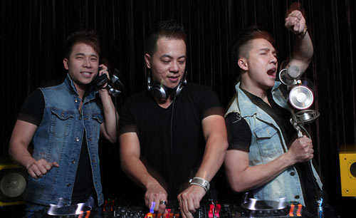 hai chang trai the men tro tai lam dj - 6