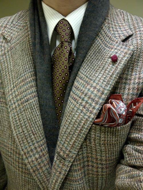 Thời trang khăn dành cho nam