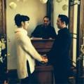 Làng sao - Ngọc Quyên làm lễ đăng ký kết hôn trang trọng