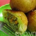 Bếp Eva - Bánh rán nhân thịt đơn giản mà ngon