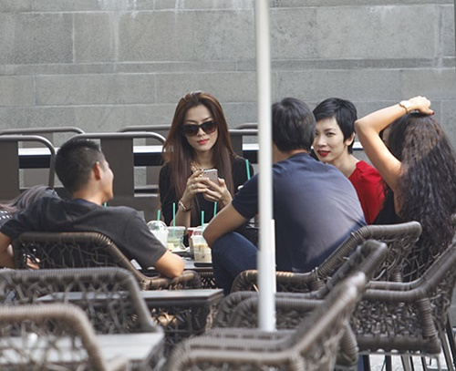 "xuan lan noi bat khi di cafe ""sang chanh"" - 4"