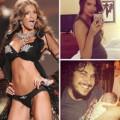 Bà bầu - Cựu mẫu Victoria's Secret được chồng đỡ đẻ