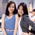 Làng sao - Ngô Quỳnh Anh vui vẻ dự tiệc trước ngày cưới