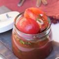 Bếp Eva - Thử làm cà chua ngâm muối