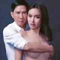 Làng sao - Trương Gia Huy gây sốc lấy tay che ngực Nong Poy