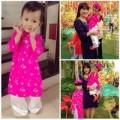 Làng sao - Con gái Bình Minh biết điệu từ một tuổi rưỡi