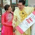 Làng sao - Bạn nhảy Tây của Hoàng Mập mê phong tục Tết Việt
