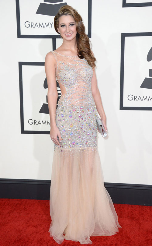 sao hollywood khoe sac tren tham do grammy - 17