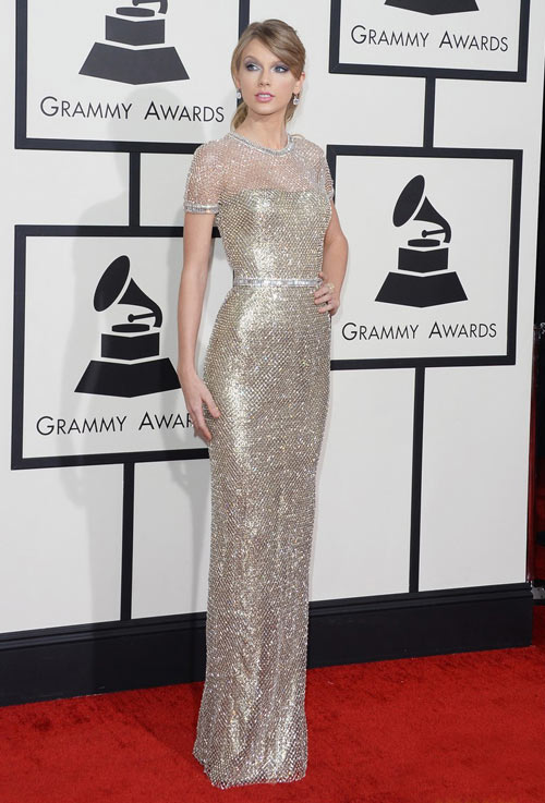 sao hollywood khoe sac tren tham do grammy - 2