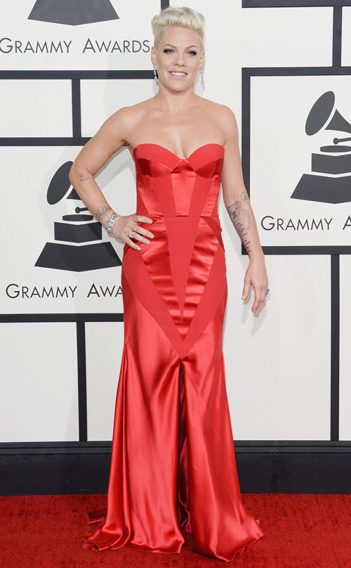 sao hollywood khoe sac tren tham do grammy - 7