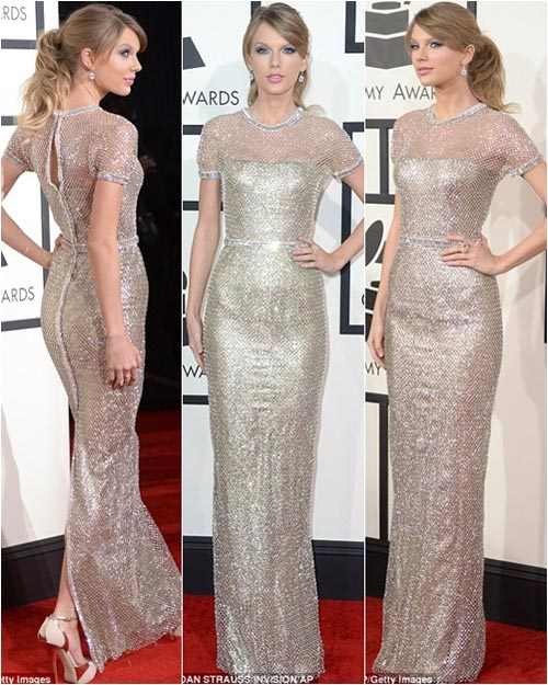"taylor swift ""thap sang"" le trao giai grammy - 2"