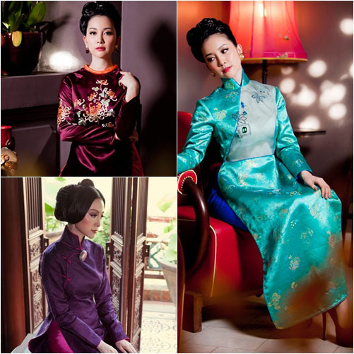"top 4 my nhan gay ""me hoac"" voi ao dai - 1"