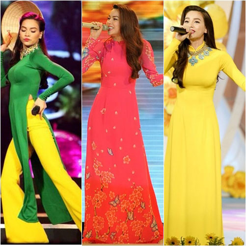 "top 4 my nhan gay ""me hoac"" voi ao dai - 14"