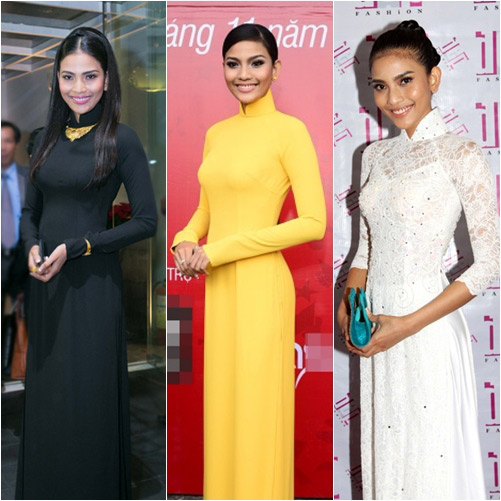 "top 4 my nhan gay ""me hoac"" voi ao dai - 17"