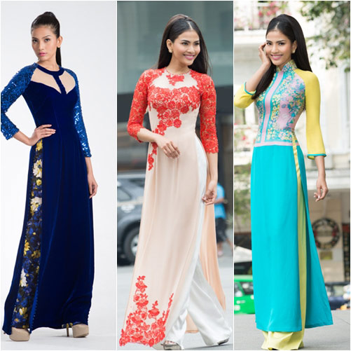 "top 4 my nhan gay ""me hoac"" voi ao dai - 19"