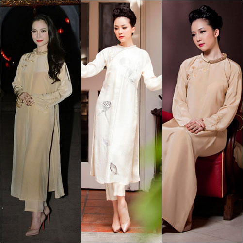 "top 4 my nhan gay ""me hoac"" voi ao dai - 2"