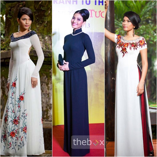"top 4 my nhan gay ""me hoac"" voi ao dai - 20"
