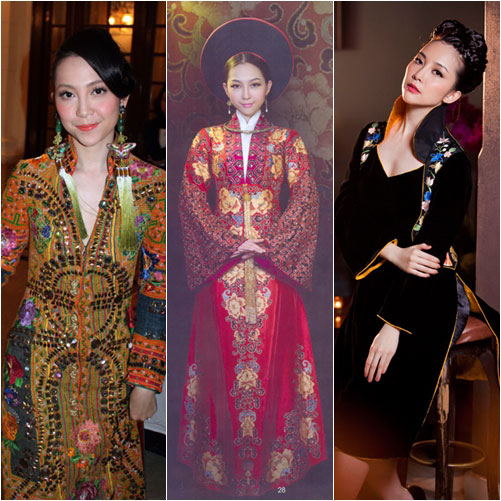 "top 4 my nhan gay ""me hoac"" voi ao dai - 3"