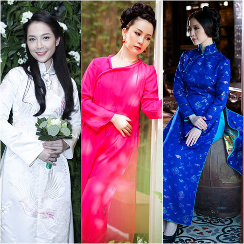 "top 4 my nhan gay ""me hoac"" voi ao dai - 4"