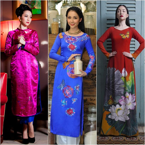 "top 4 my nhan gay ""me hoac"" voi ao dai - 5"
