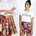 Tư vấn mặc đẹp - Biến hoá với váy ngắn sắc hoa