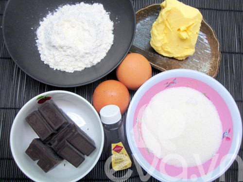 banh creamcheese brownies: vung cung lam duoc! - 2