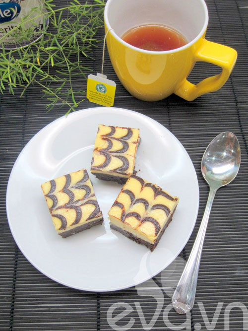 banh creamcheese brownies: vung cung lam duoc! - 17