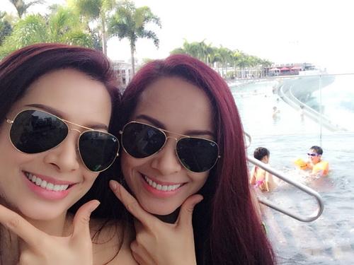 thuy hang, thuy hanh bi nham la nhom twins - 2