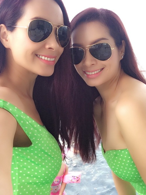 thuy hang, thuy hanh bi nham la nhom twins - 5