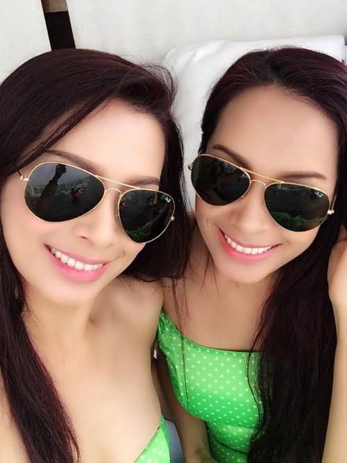 thuy hang, thuy hanh bi nham la nhom twins - 6