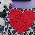 Nhà đẹp - Tỉ mẩn may gối trái tim tặng 'ai kia'