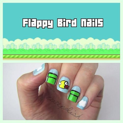 ve mong hinh flappy bird cuc hot - 1