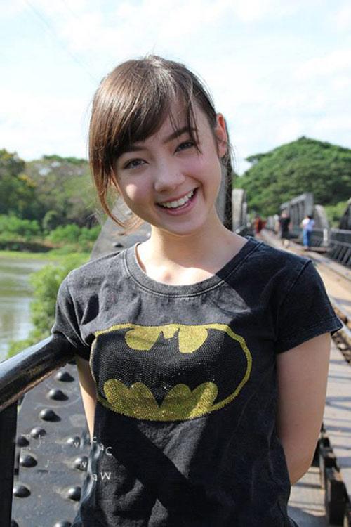 ve dep hot girl thai lan 'cuong' tieng viet - 2