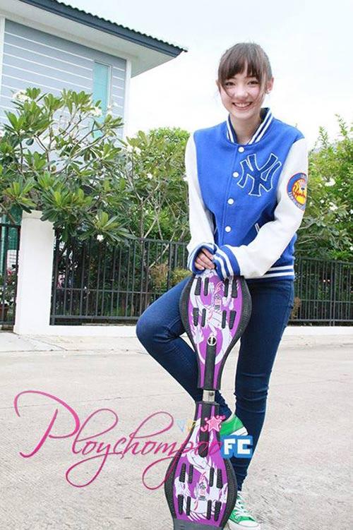 ve dep hot girl thai lan 'cuong' tieng viet - 5