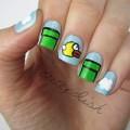 Làm đẹp - Vẽ móng hình Flappy Bird cực hot